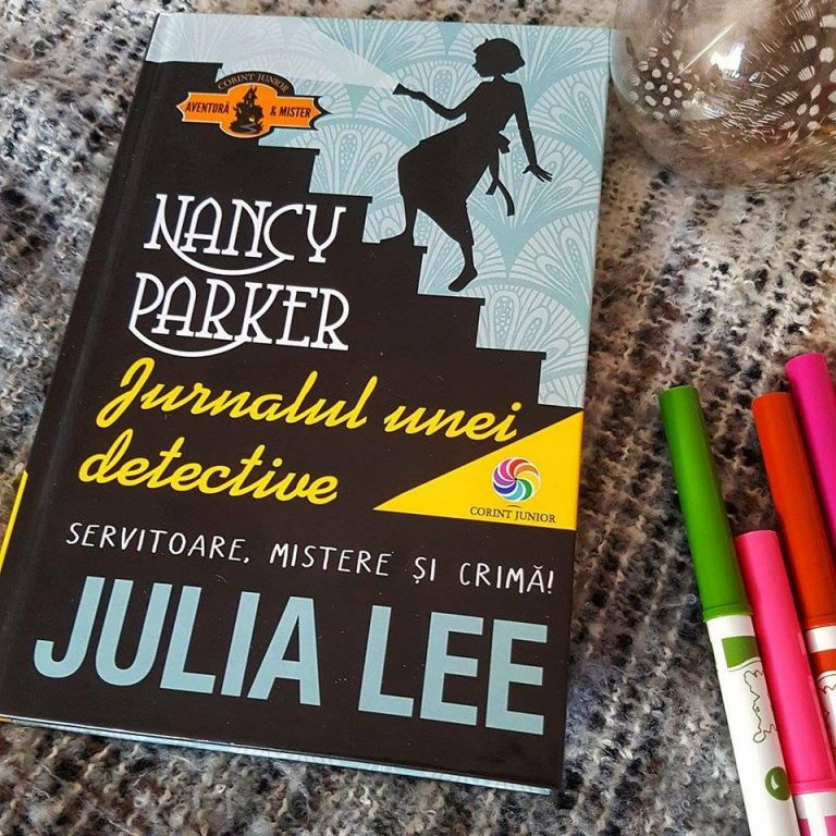 Recenzie: Nancy Parker Jurnalul unei detective – Julia Lee