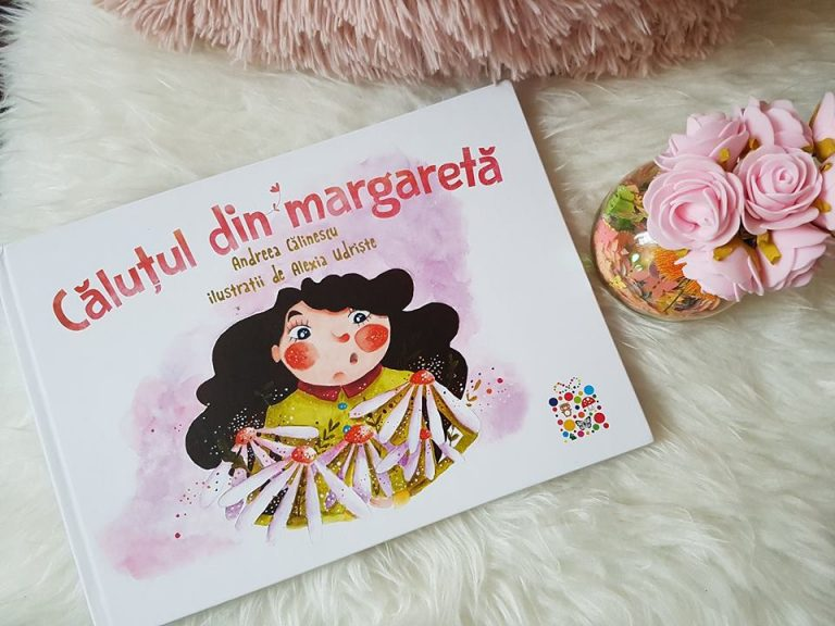 Căluțul din margaretă – Andreea Călinescu, ilustrații de Alexia Udriște