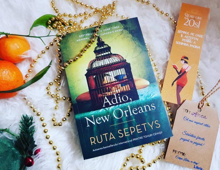 Adio, New Orleans – Ruta Sepetys, recenzie