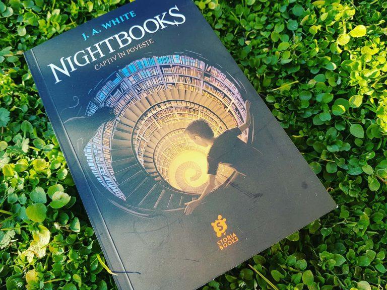 Nightbooks – Captiv în poveste – J. A. White, recenzie