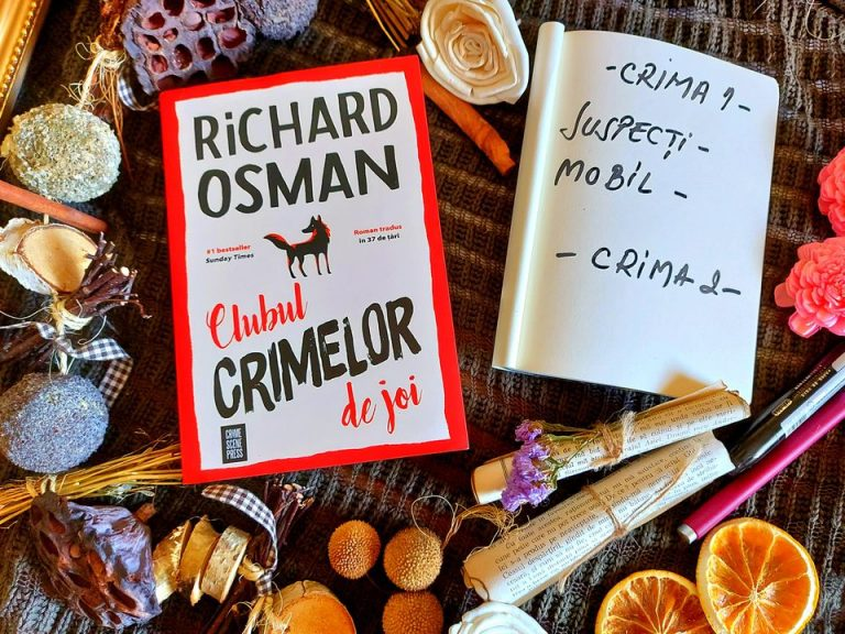 Clubul crimelor de joi – Richard Osman, recenzie