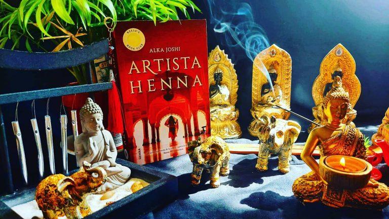 Artista henna – Alka Joshi, recenzie