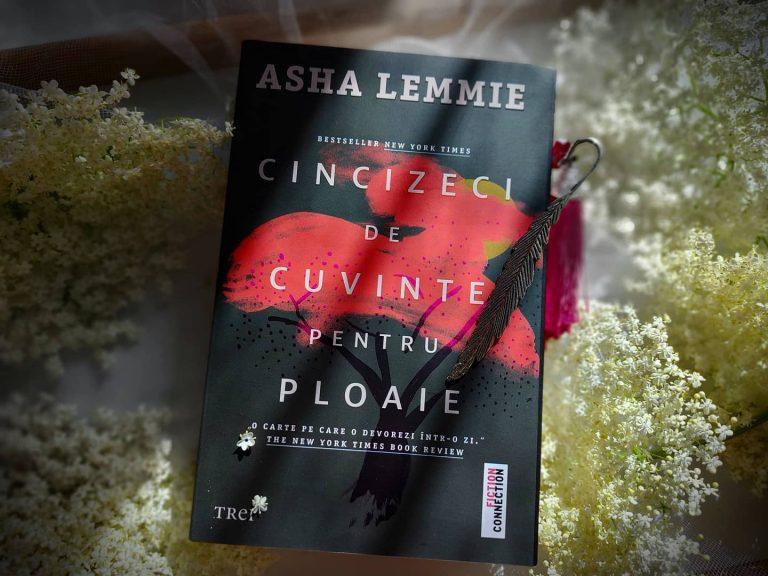 Cincizeci de cuvinte pentru ploaie – Asha Lemmie, recenzie